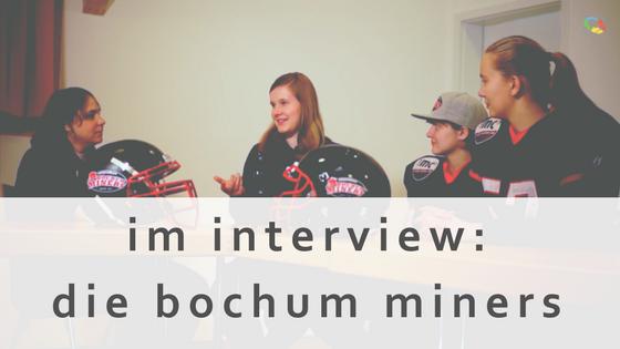 Bild zum Interview mit den Bochum Miners: TOPOINEX im Sport